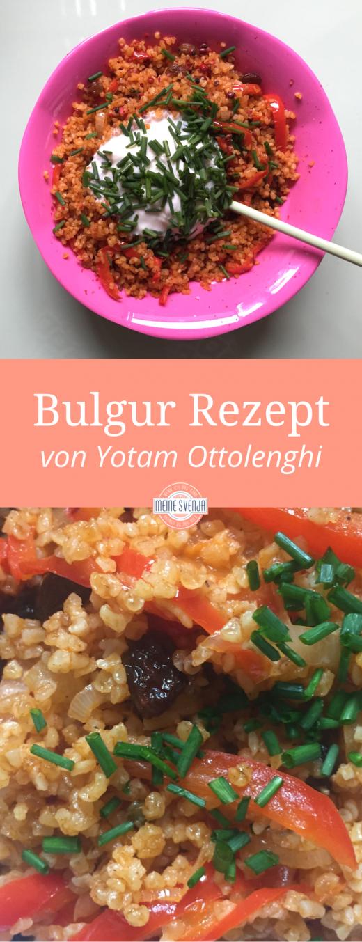 Bulgur Rezept von Yotam Ottolenghi - das Pinterest Bild