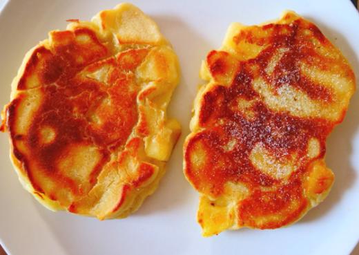 Die Kook - Hefepfannkuchen kross gebraten