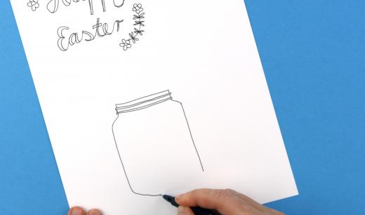 Mason Jar zeichnen