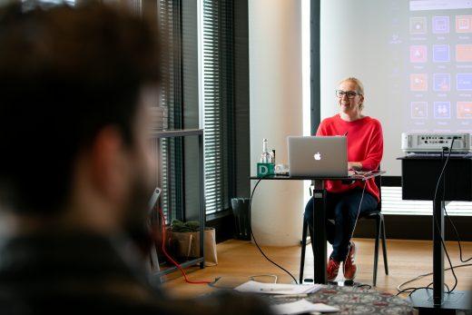 Erfolgreich bloggen - Dozentin Svenja Walter