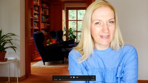 Aufnahmen zu meinem Online Kurs Erfolgreich bloggen