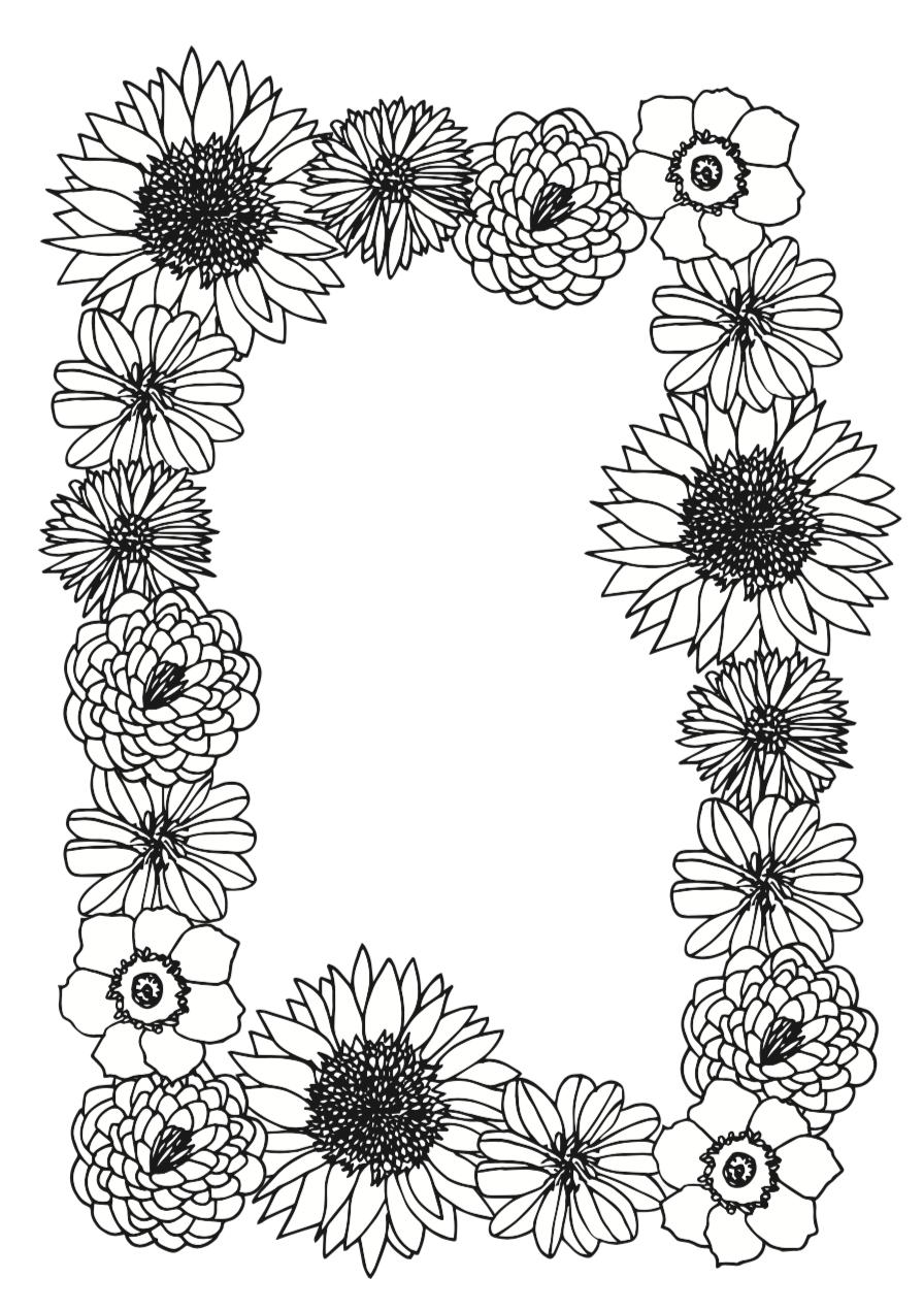 Blumen Zeichnen Schritt Fur Schritt Meine Svenja