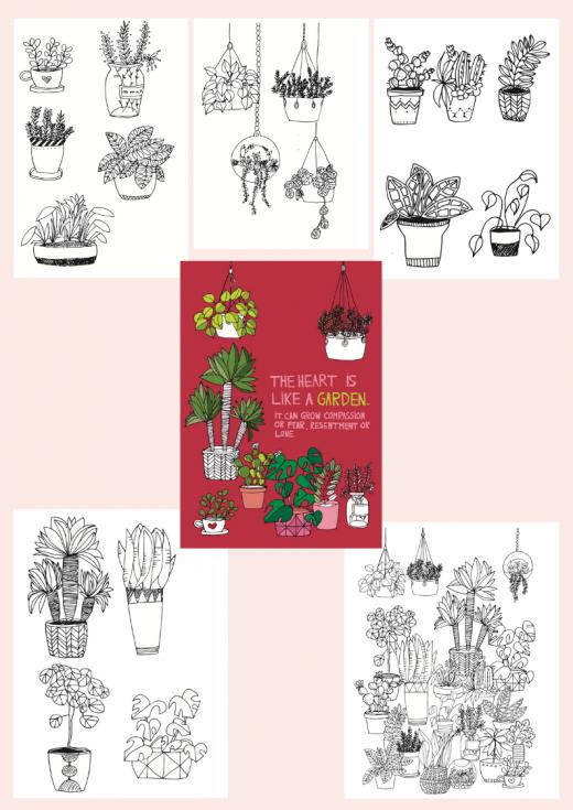 Google Seite 1 - Downloads Pflanzen Ausmalbilder