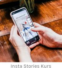 Online-Kurs: Vertikal erzählen - Instagram Stories