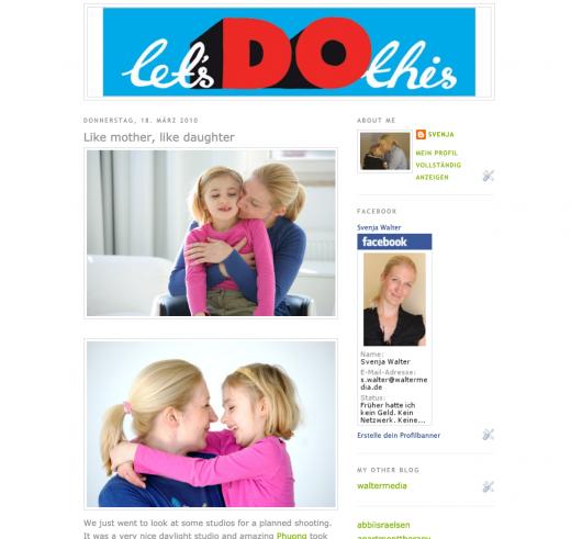 Bloggen lernen - mein erstes Blog Design auf lilukids.de