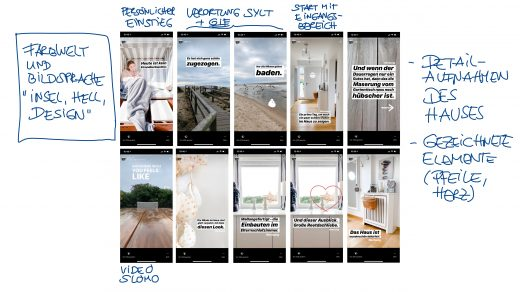Instagram Story 3 aus Sylt, Teil 1