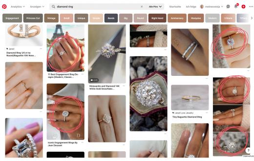 GIF erstellen - diamond ring Suche bei Pinterest