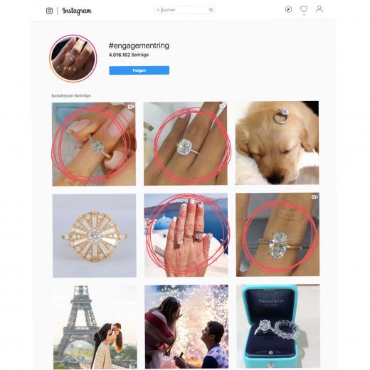 GIF erstellen - engagement ring Suche bei Instagram