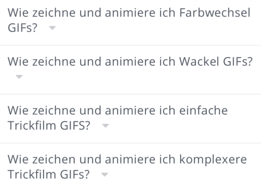 Expertenwissen zu GIFs