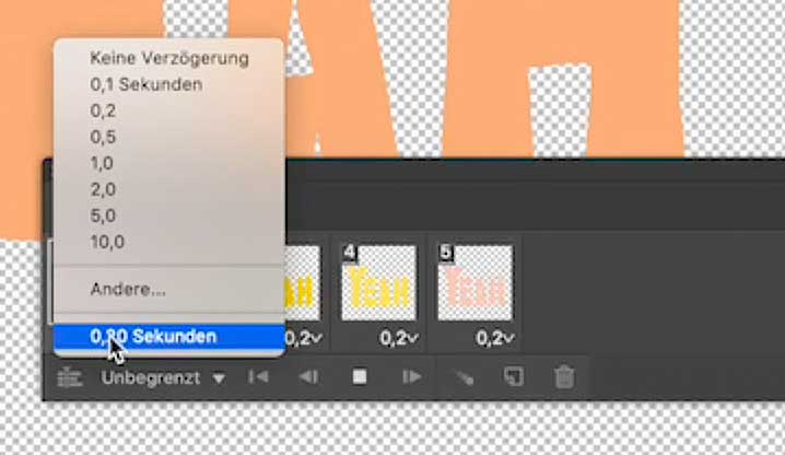 GIF animieren Photoshop