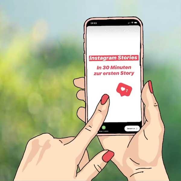 Instagram Stories Online Kurs