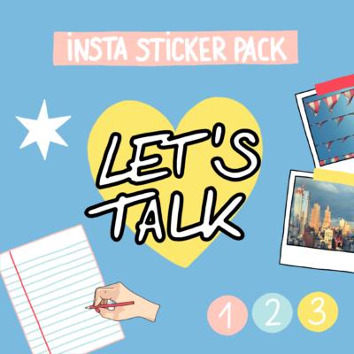 Instagram Sticker Pack Meinesvenja