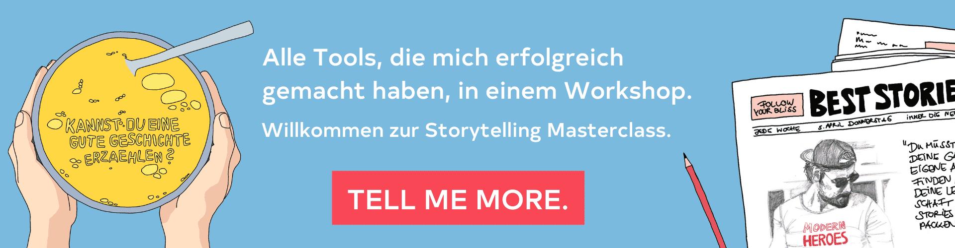 Storytelling Masterclass Uwe Walter